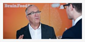 Hans Rüby im Kundengespräch zur Neukundengewinnung